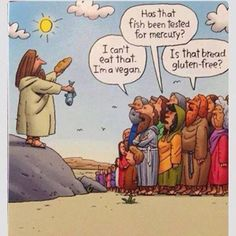 If Jesus tried to feed the 5000 today...