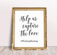 Help Us Capture The Love, Wedding Hashtag Sign, Personalized Sign, Custom Wedding Sign, Hashtag Sign, Capture The Love Sign, Wedding Print