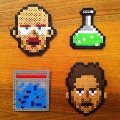"""How to: Make 8-Bit """"Breaking Bad"""" Perler Bead Pixel Art"""