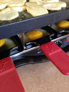 Breakfast on the Raclette! http://michellehendrickson.velata.us