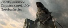Godzilla Haiku : Photo