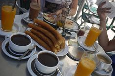desayuno español spanish breakfast