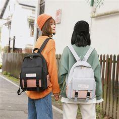Uk Fashion, School Fashion, School Backpacks, School Bags, Fashion Backpack, Harajuku, Female, Luxury, Lady