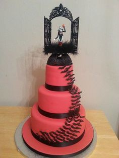 Christmas Wedding Cakes Nightmare Before Cake