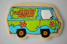 ...and here is the Mystery Machine! :D
