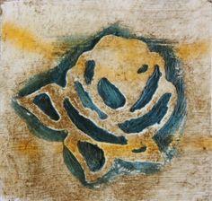 By Rejane Frainer - Encáustica - o acabamento com cera quente produz textura e efeito encerado.