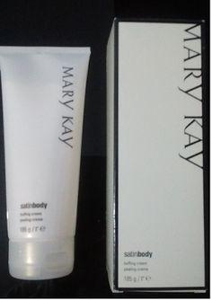 Maquiagem de óculos: Creme esfoliante Satin Body, Mary Kay