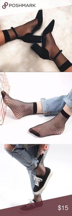 Fishnet Socks Fishnet Socks. Covers the ankle and below. OSFM. Accessories Hosiery & Socks
