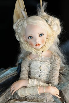 Angela. Art doll by Alisa Filippova | Doll Art Guru