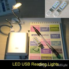 Mini Computer USB Gadget 3 LEDS 5730 LED Lamp USB Light White / Warm White Light for Notebook Laptop Mobile Power Reading Book Online with $3.68/Piece on Mdllight's Store | DHgate.com