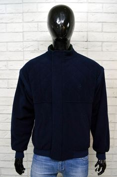 Dettagli su Giubbotto Blu Uomo CONTE OF FLORECE Taglia XL Jacket Man  Giubbino Giacca Blu 02a7a554ba4