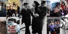 Fotos emblemáticas del día de la mujer