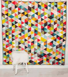 Make modern quilts with these free quilt patterns. Use fabric scraps from your stash or precut fabric. Quilting Tutorials, Quilting Projects, Quilting Designs, Sewing Projects, Sewing Crafts, Scrap Quilt Patterns, Modern Quilt Patterns, Block Patterns, Sewing Patterns
