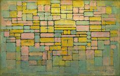 Tableau no. 2 Composition no. V, oil on canvas, 1914