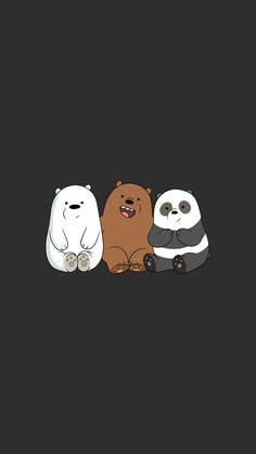 We Bear Bears wallpapers iPhone 23 high-definition ♪-We Bare Bears . Cartoon Wallpaper Iphone, Disney Phone Wallpaper, Bear Wallpaper, Kawaii Wallpaper, Cute Wallpaper Backgrounds, Girl Wallpaper, Screen Wallpaper, Wallpaper For Desktop, Wallpaper Quotes