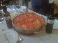 Propuesta de maridaje para hoy: Marqués de Terán y arroz con bogavante en el restaurante El Molino, en Navarrete (La Rioja)