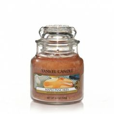 Maple Pancakes : Small Jar Candle : Yankee Candle