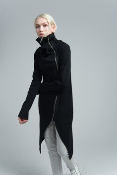 NEW Spring Jacket / Asymmetric Jacket / Long by marcellamoda
