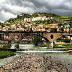 #Cosenza Bridge Historical Centre, Cosenza, Province of Cosenza , Calabria  region Italy  http://www.turistarth.com/from-local-to-social/90-nuove-dimensioni-nuove-soluzioni-tecnologia-societa-e-viaggi-nell-era-del-2-0