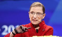 Ruth Bader Ginsburg Says Supreme Court 'Up For Grabs' If Donald Trump Is President