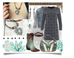 """""""Amy's Leather Lane Necklace"""" by jeneric2015 ❤ liked on Polyvore featuring Yves Saint Laurent, Marc by Marc Jacobs, Ralph Lauren, Zodaca, Child Of Wild, women's clothing, women, female, woman and misses"""