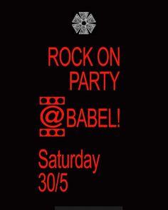 Aνασκόπηση στις εκδηλώσεις της ΒABEL που μας προσέφεραν χαρά και δημιουργία,  σε...αφίσες!  #BABEL #babelarcore #art #τεχνη #εκδηλώσεις #marousi #Live #συναυλία #rock #party