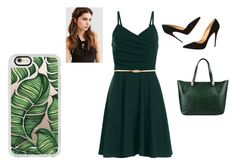 """""""Date Night 2"""" by haschaklover ❤ liked on Polyvore featuring Christian Louboutin, Roberto Cavalli, Casetify and REGALROSE"""