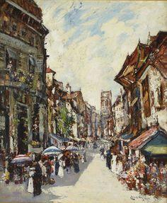 James Kay   Street Scene, Exeter