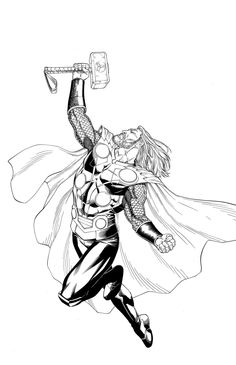 Thor by Mike S. Miller