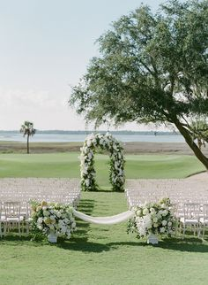 The Bride Always Knew She Wanted to Get Married Here Since She Was Just a Little Girl! Wedding Ceremony Decorations, Wedding Venues, Got Married, Getting Married, Indoor Ceremony, Marry You, Wedding Flowers, Wedding Dress, Wedding Photography