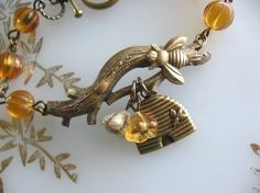 Bee Charmer Bracelet by CharmedValley on Etsy