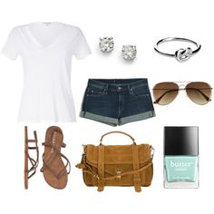 """""""Summer Shadows"""" by kvknowles on Polyvore"""