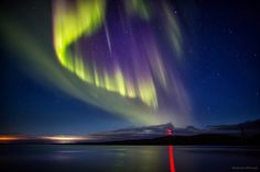 Northern lights in the sky over Murmansk region, Russia, photo 15