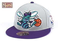 Mitchell & Ness Charlotte Hornets Fitted