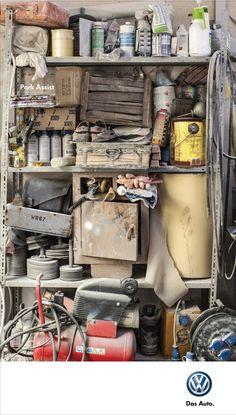 Adeevee - Volkswagen Park Assist: Shelf, Refrigirator