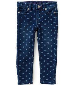 Levi´s® Little Girls 2T-6X Denim-Look Knit Jeans