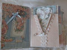 annes papercreations: Secret Garden Wishing well roof mini album