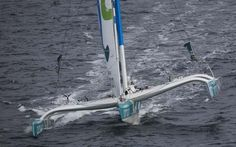 Sail-World.com : Route du Rhum - Tough first day for Gavignet and Musandam-Oman Sail