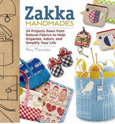 books, sewing crafts, kitchen accessori, craft book, 24 project, handmade gifts, project sewn, zakka handmad, book reviews