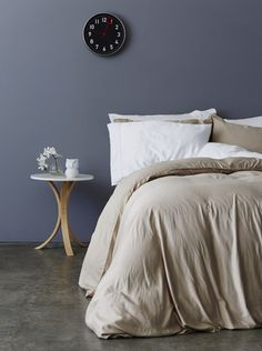 Get in bed with these heavenly soft and luxury bamboo bed linen sets, made with organic bamboo lyocell. Silky smooth, hypoallergenic and breathable.