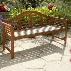 Lutyens Style Wooden Bench