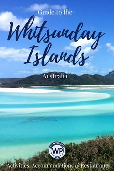 Ultimate travel guide to the Whitsunday Islands, Australia and the Great Barrier Reef: Inner or Outer Great Barrier Reef, best restaurants and resort in Airlie Beach, recommendations from real travelers Australia Tourism, Australia Travel Guide, Visit Australia, Australia 2018, Queensland Australia, Victoria Australia, Brisbane, Melbourne, Oh The Places You'll Go