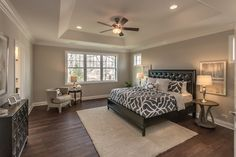 Spacious Master Bedroom - See Home Tour Vlog 34 here: http://homechanneltv.blogspot.com/2017/03/home-tour-vlog-34-newly-completed.html