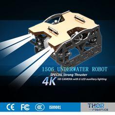 Thor Robotics Trench rover 1506ROV Max Depth300M Underwater Robot With Camera