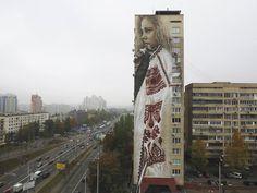 Artist- Guido Van Helten Kyiv | Ukraine