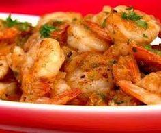 receta para camarones | Receta de cuaresma de Camarones ahumados con chipotle