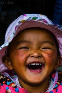 Ve a sonreír al Tibet.