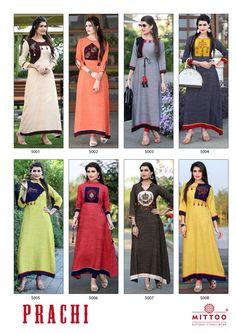 Women Indian Ethnic Designer Kurti Tunique kurta chemise robe coton imprimé MM225