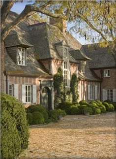 Beautiful houses and architecture Things that Inspire Country French Renovation by Eric J. Smith Architect