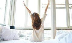 Discover morning rituals to ensure you wake up every morning with a smile as though you've been blessed with the best night sleep withExpert Kerry Madgwick. Morning Person, Good Morning, Sunday Morning, Lazy Sunday, Yoga Video, Morning Habits, Morning Routines, Night Routine, Morning Ritual